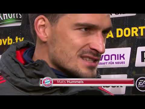 Mats Hummels fängt gleich an zu heulen