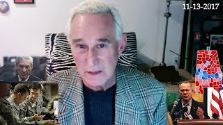 Roger Stone, Discusses Roy Moore, Menendez trail, Gen Flynn, Current Events  November 13th, 2017