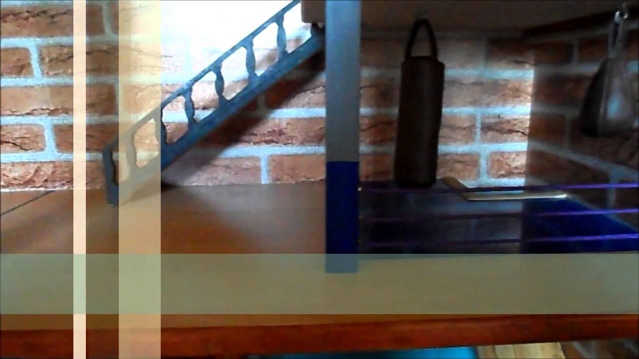 cage faite maison pour mes furet youtube. Black Bedroom Furniture Sets. Home Design Ideas