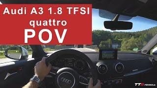 audi a3 1 8 tfsi quattro pov test drive