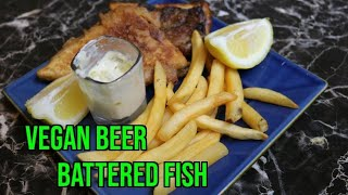 Vegan beer battered Fish  recipe