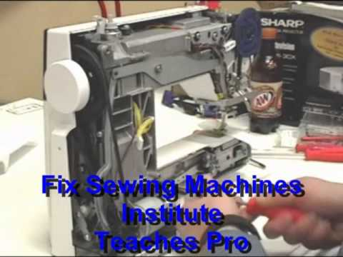 Bernina Sewing Machine Disassembly YouTube Classy Dave's Sewing Machine Repairs