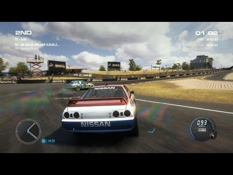 Grid 2 PC Multiplayer: Tier 3 Nissan Skyline R32 GT-R Group A, Bathurst Track Pack DLC