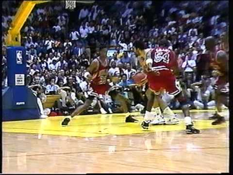 1990 - 1991 CHICAGO BULLS NBA PLAYOFFS 20TH YEAR ANNIVERSARY NBA FINALS #2
