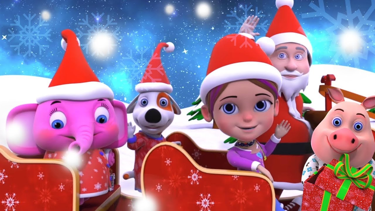Jingle Bells Jingle Bells | Christmas Songs For Toddlers | Xmas Video For Babies by Little ...