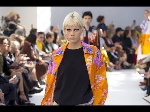 DRIES VAN NOTEN Spring Summer 2019 Highlights Paris - Fashion Channel