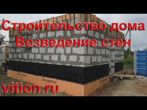 Строительство дома 6х6. Возведение стен процесс и стоимость
