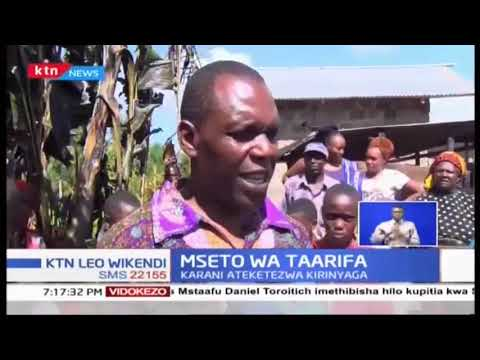Karani wa mahakama ya Murang\'a ateketezwa hadi kufa kwa kukataa kumzika mwanawe