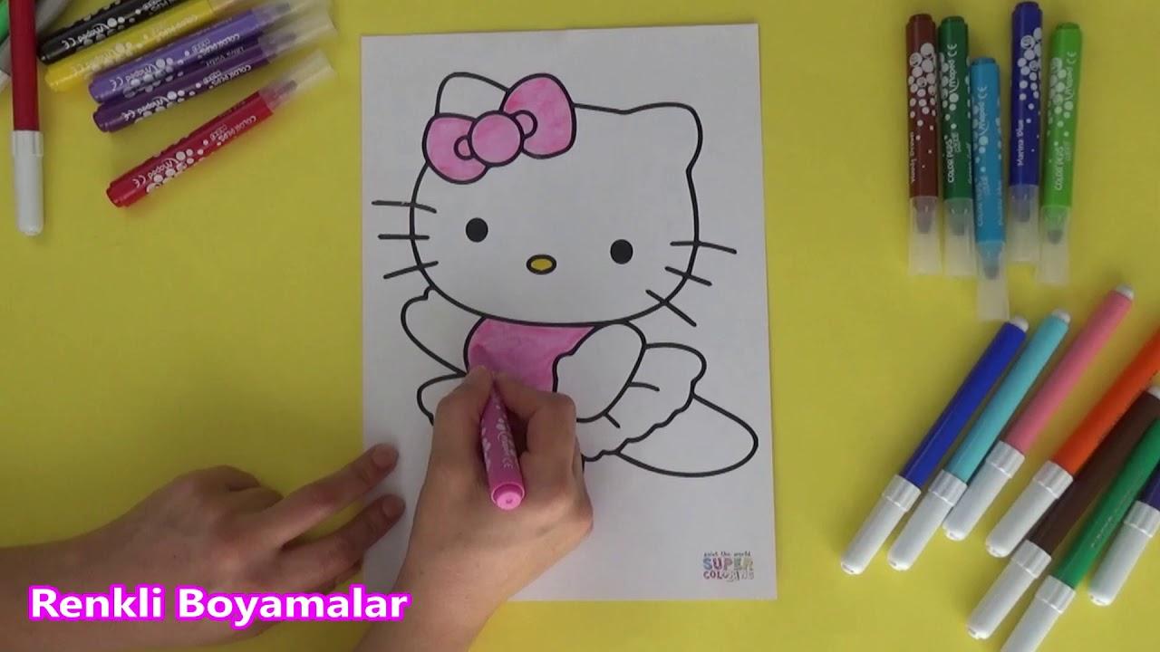 Hello Kitty Boyama Sayfasi Youtube