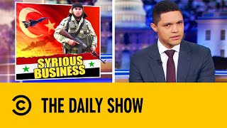 Trump's Middle East Pull Out Results In Chaos | The Daily Show With Trevor Noah