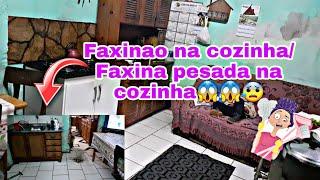 FAXINAO NA COZINHA/ FAXINAO PESADA NA COZINHA COMPLETA - Daii Medina  #faxina #cozinhalimpa