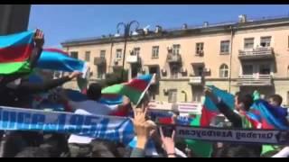 Многотысячные митинги в Баку,азербайджанцы хотят войну за Карабах.(, 2016-04-07T16:28:23.000Z)
