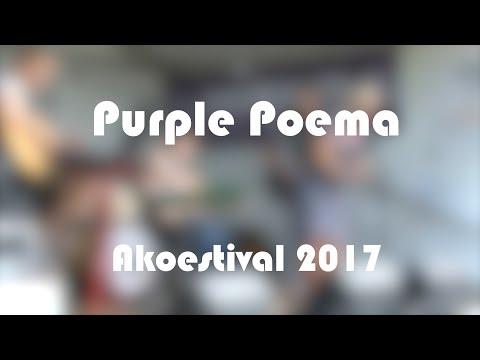 Purple Poema @ Akoestival 2017 Woerden
