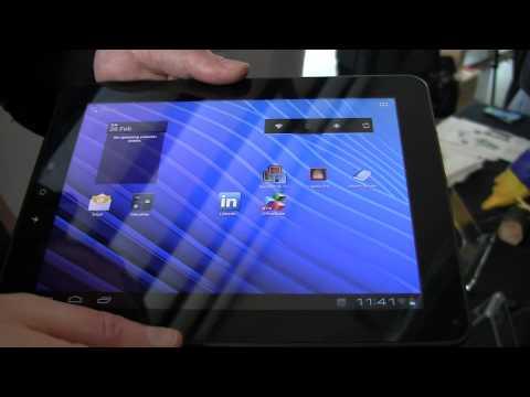 Viewsonic ViewPad E100 at MWC 2012