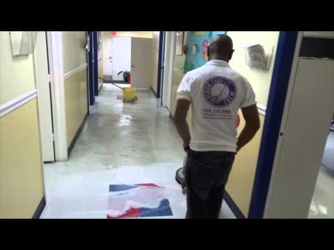 Florida Cleaning Crew- VCT Tile Floor