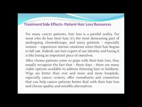 Mesothelioma law firm related word -Treatment Side Effects- Patient Hair Loss Resources