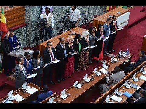 عنها في نصف ساعة: لأول مرة في التاريخ.. نصف الحكومة الإثيوبية من النساء  - 19:54-2018 / 10 / 16