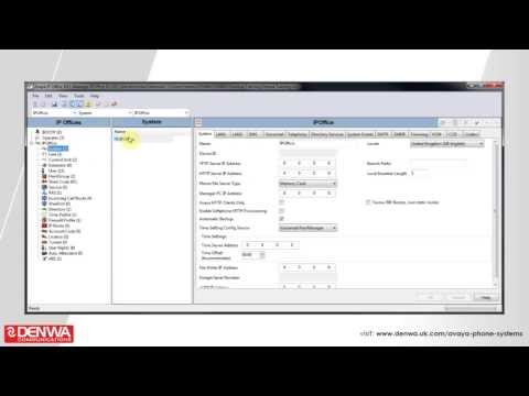 How to activate and configure multi-node on the Avaya IP Office