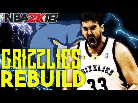 TRADING BOTH STARS!?!? REBIULDING THE MEMPHIS GRIZZLIES!! NBA 2K18 MY LEAGUE