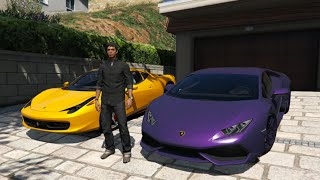GTA V | MO VLOGS IN GTA V | I GOT A FERRARI !!!