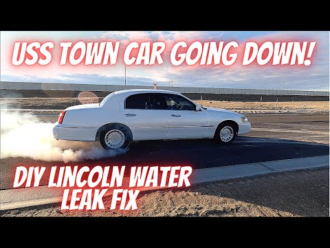 Lincoln TOWN CAR Taking on WATER! How To Repair the Cabin Water Leak on a Lincoln or Ford Crown Vic.