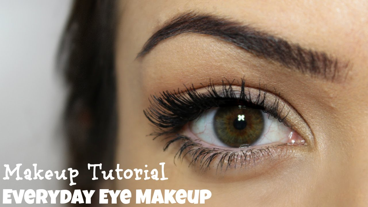 Everyday Eye Makeup 5 Steps Makeup Tutorial Youtube