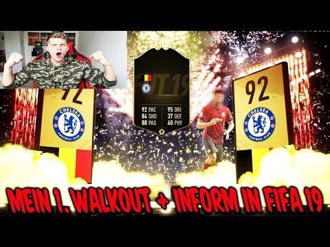 FIFA 19: Ich ziehe direkt meinen 1. WALKOUT + INFORM im ersten PACK OPENING! - Ultimate Team