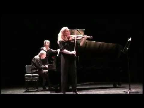 "Stephanie Chase plays ""Obertass"" Mazurka by Henryk Wieniawski"