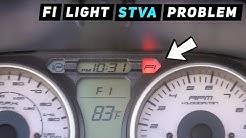 Suzuki Burgman 400: F1 Light! STVA Problem FIXED! C28 | Mitch's Scooter Stuff