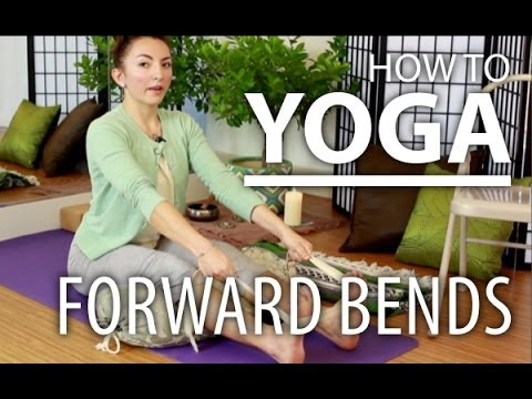 Yoga for Beginners - Improve Your Forward Bending by Stretching with Props
