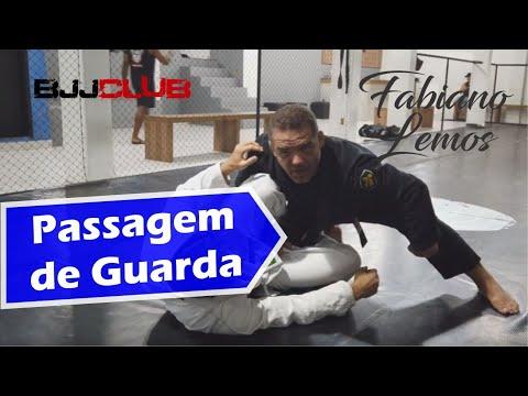 Passagem de Guarda com Fabiano Lemos - Jiu Jitsu - BJJCLUB