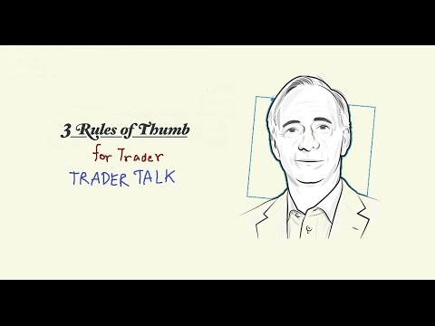 Ray Dalio's 3 Rules of Thumb