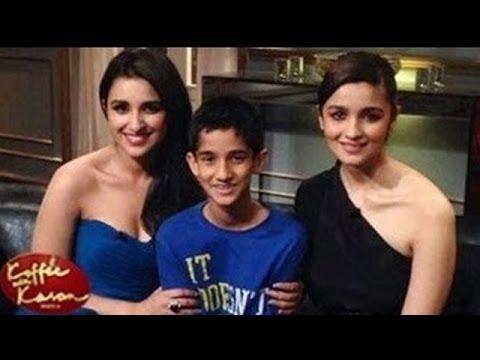 Koffee With Karan Season 4 : Alia Bhatt and Parineeti Chopra on the show   EXCLUSIVE PICTURES Mp3