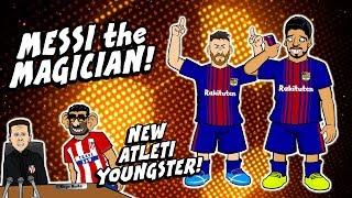 🔮Messi is a Magician🔮 Atleti vs Barca Preview Liverpool vs Man Utd preview