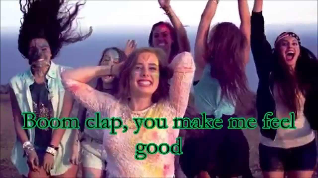 Boom clap cimorelli lyrics youtube