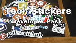 Techie Sticker Pack For You Sticker Heads:Laptop & Tablet Decor