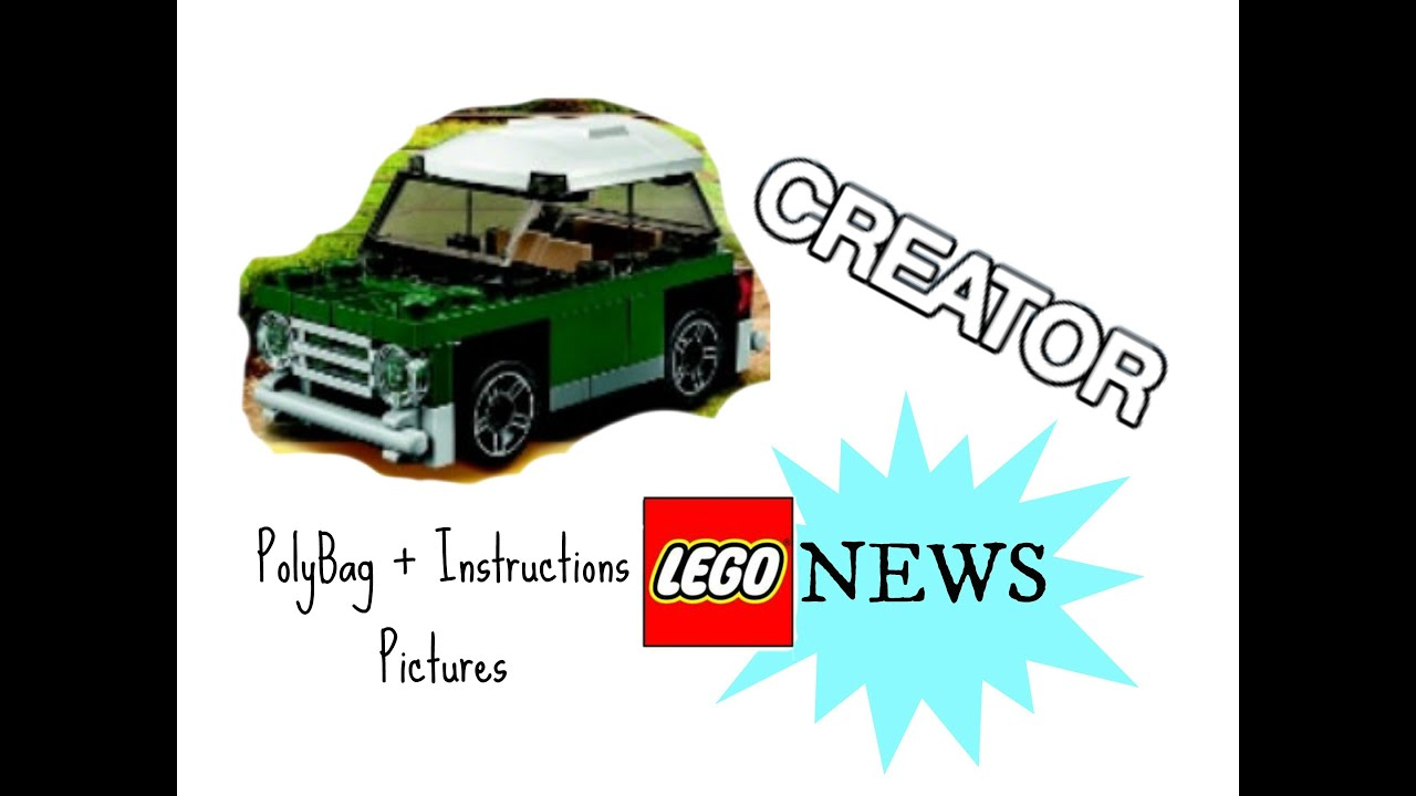 lego mini cooper instructions
