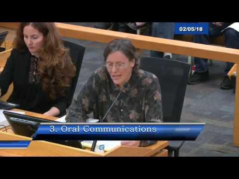 Santa Cruz Board of Supervisors 02-5-18