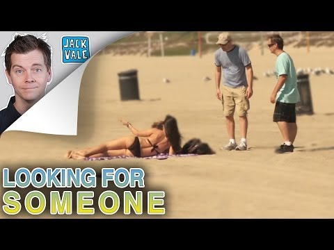 Looking for Someone on the Beach