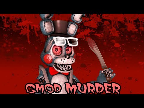 THERE'S A SERIAL KILLER ON THE LOOSE!!! || Gmod MURDER Funny Moments || Zany Gmod #30