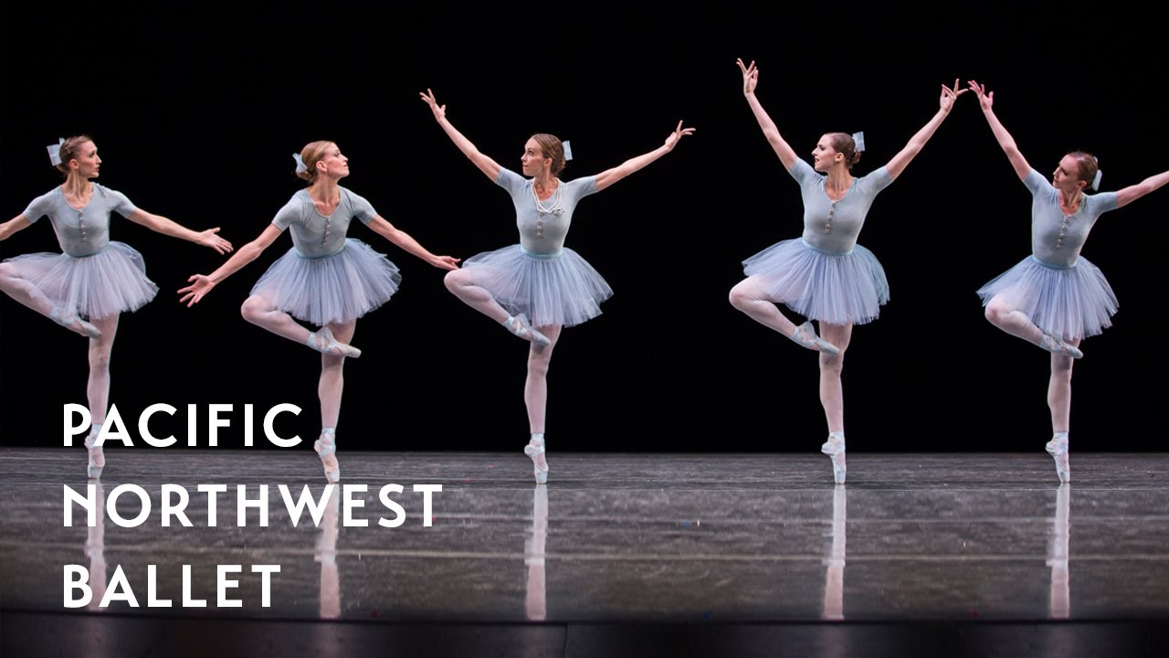 Jerome Robbins The Concert Mistake Waltz Long Excerpt Pacific Northwest Ballet Youtube