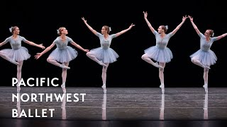 Jerome Robbins' The Concert - Mistake Waltz long excerpt (Pacific Northwest Ballet)