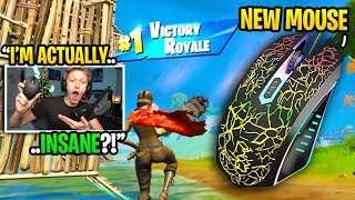 I bought this new MOUSE for Fortnite and it TURNED me into THIS (best mouse ever)