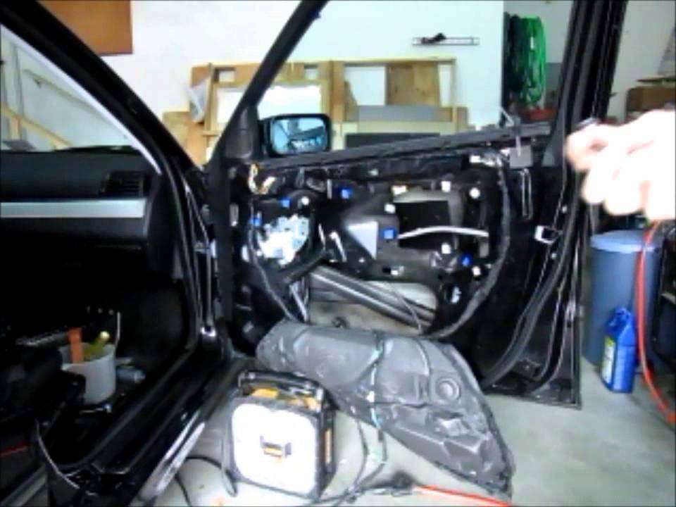 Bmw E46 Side Mirror Wiring Diagram : Replace bmw e door wiring harness youtube
