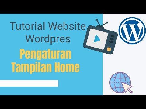 Tutorial Website Wordpress -Pengaturan Tampilan home dan sidebar thumbnail