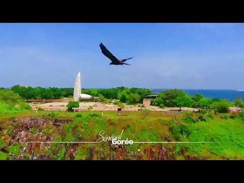 [DRONE] Carte postale de l'île de Gorée (Sénégal)