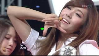 소녀시대 Girls' Generation - MR. TAXI (SBS Inkigayo 111218)