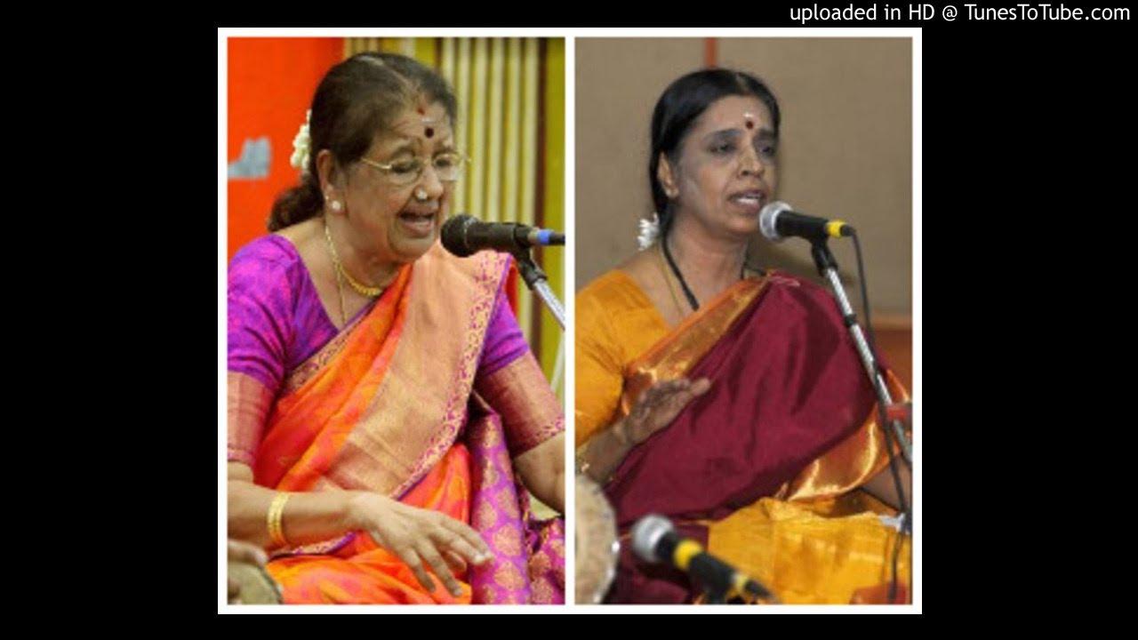 Neela Ramgopal & Prema Rangarajan - shankara siddhAnta - kalyANi - Adi - VV Srivatsa
