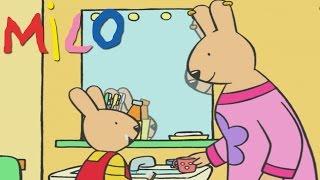Milo lernt, nicht zu verschwenden | Karikatur für Kinder