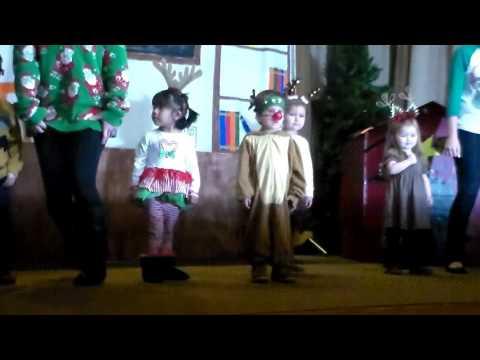 Run Run Rudolph - Scout's Christmas Program - Center for Hearing and Speech Melinda Webb School